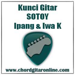 Chord Kunci Gitar Sotoy Ipang ft. Iwa K