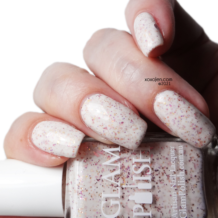 xoxoJen's swatch of Glam Polish You Are No One Until You're Talked About