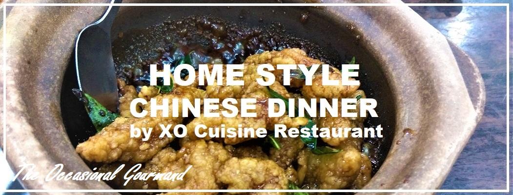 Home Style Chinese Dinner Xo Cuisine Restaurant Usj 21 Subang Jaya