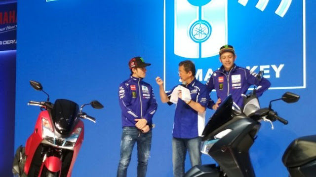 Yamaha Lexi Resmi Diluncurkan