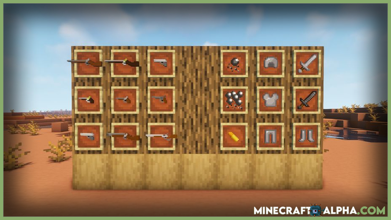 Minecraft Fry's Things Guns