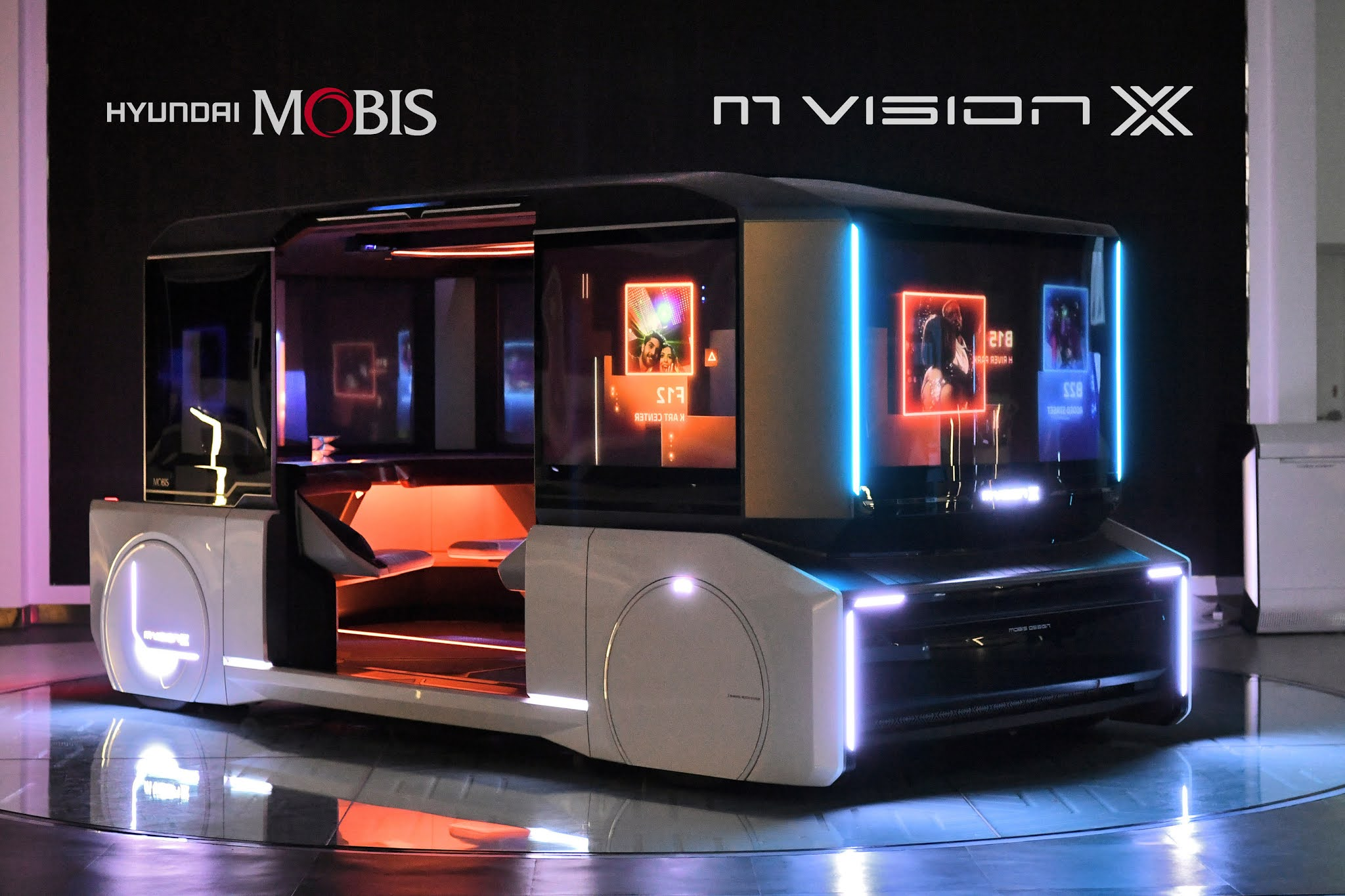 Hyundai Mobis, announced the urban shared future mobility concept, M.Vision X and M.Vision POP!