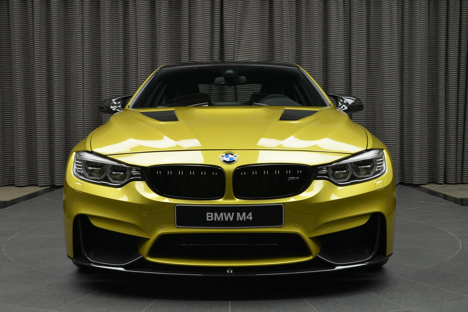 Austin Yellow BMW M4 Laden With M Performance Parts Is ...