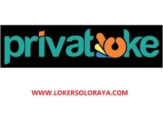 Loker Solo Lulusan D3 di PT. Privatoke Aplikasi Indonesia