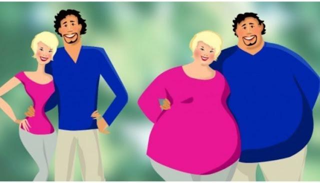 Η επιστήμη μίλησε: Τα ζευγάρια που αγαπιούνται αληθινά, παχαίνουν