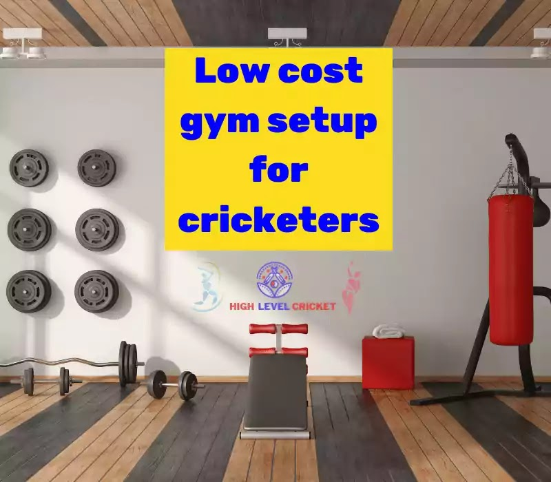 How to set up Low cost gym at home for cricketers in Hindi - क्रिकेटर घर पर जिम कैसे बनायें