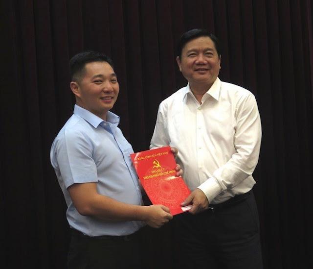 Con trai ông Lê Thanh Hải, ông Lê Trương Hải Hiếu tham gia Ban chấp hành Đảng bộ TP.HCM