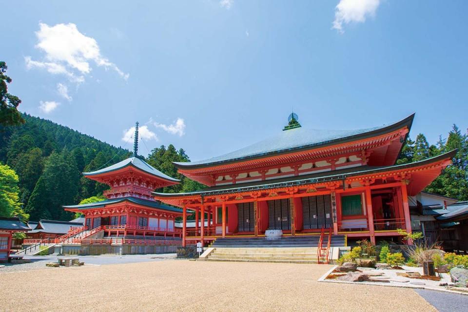 วัดเอ็นเรียคุจิ (Enryakuji Temple: 延暦寺)