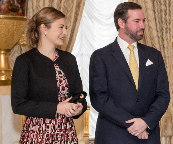 Hereditary Grand Duke Guillaume and Hereditary Grand Duchess Stéphanie