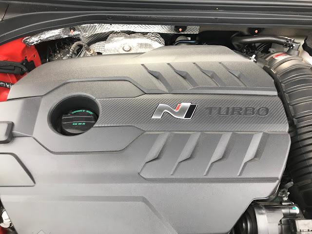 Engine in 2020 Hyundai Veloster N