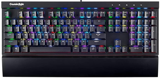 Cosmic Byte CB-GK-03 Mechanical Keyboard under ₹3000 in India.