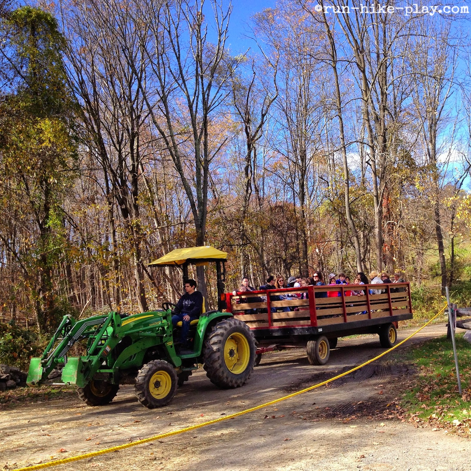 Muscoot Farm hayride