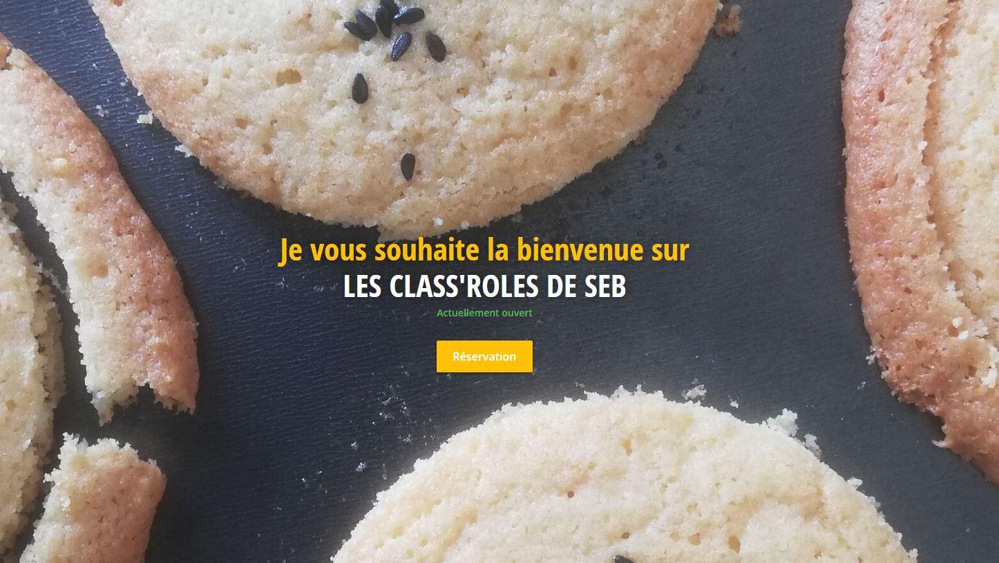 Sébastien, chef à domicile à Lyon - Les Class'Roles de Seb