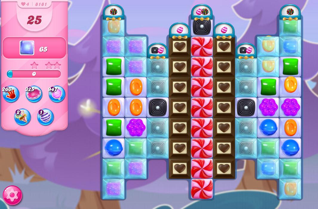 Candy Crush Saga level 8181