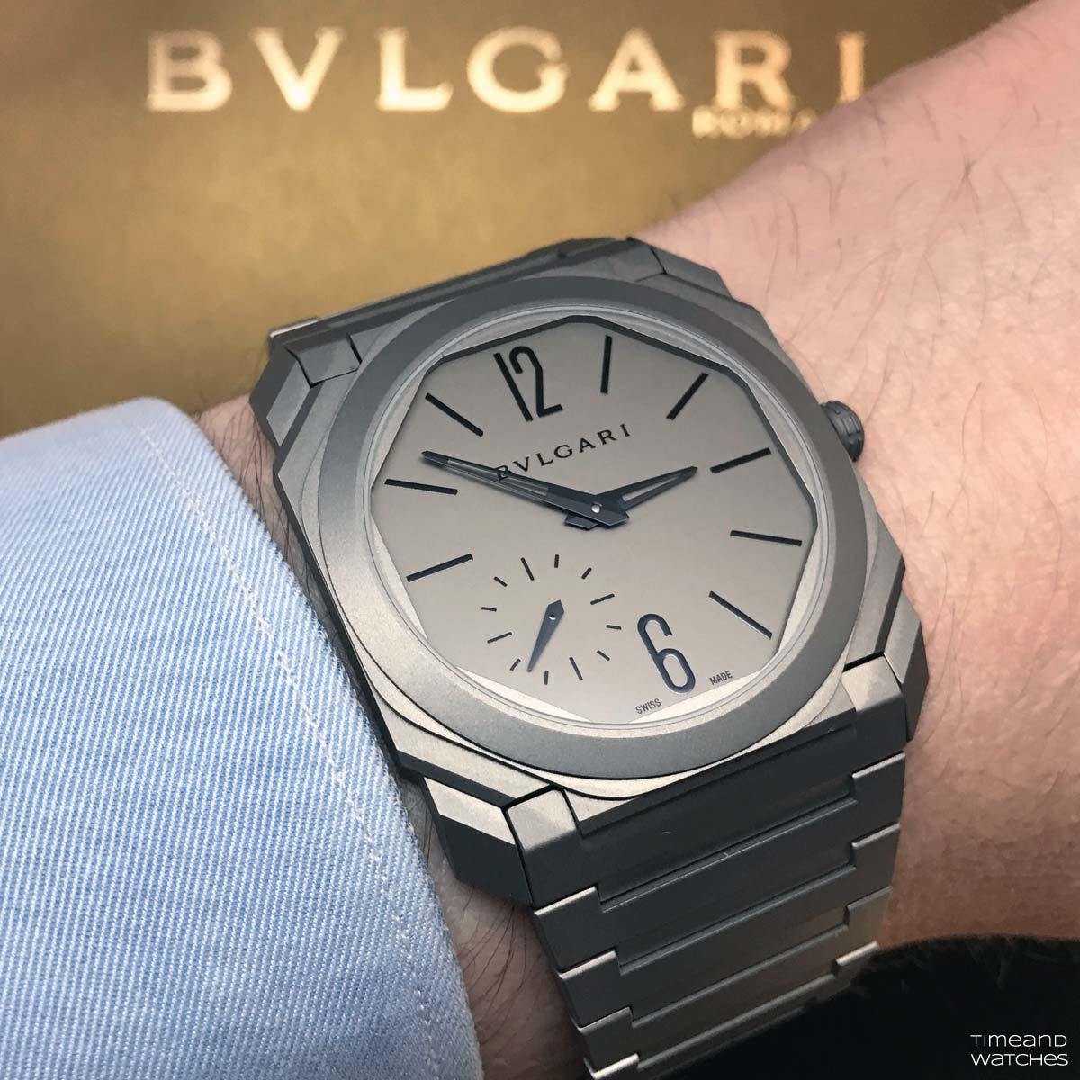 bulgari octo finissimo automatic time and watches