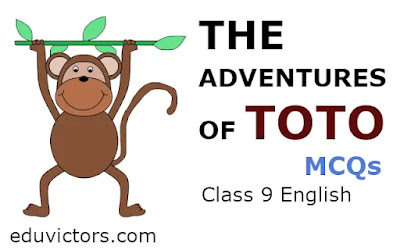 CBSE Class 9 English: THE ADVENTURES OF TOTO (MCQs)(#class9English)(#cbse2021)(#eduvictors)
