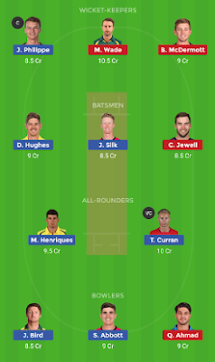 HUR vs SIX dream 11 team | SIX vs HUR