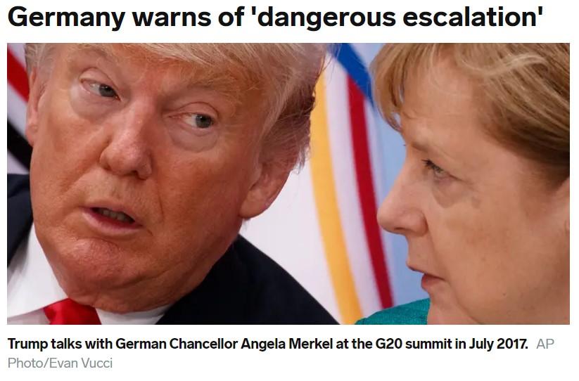 World War 3, Trump, Angela Merkel
