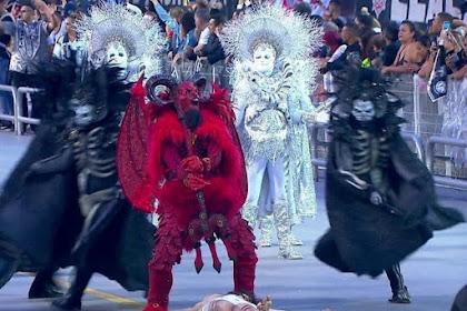 """Desfile da Gaviões da Fiel """"não é arte, é crime"""" afirma bancada evangélica"""