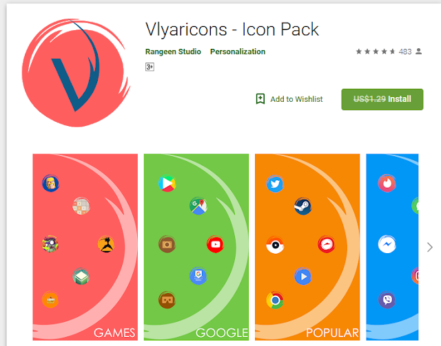 Vlyaricons - Icon Pack[Noramally $129]