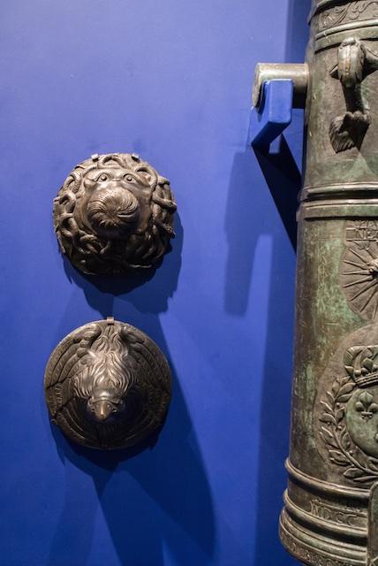 Culs de lampe — Pièce de 16 (haut) & Pièce de 12 (bas) selon l'ordonnance de 1732