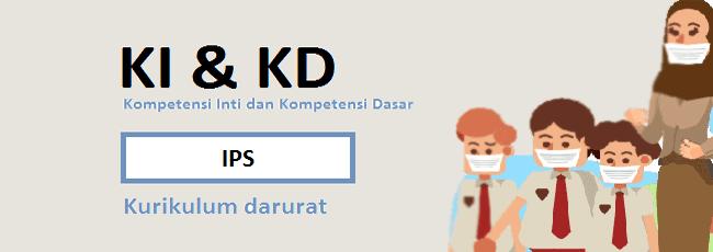 KI KD IPS SD/MI Kelas 6 Kurikulum Darurat