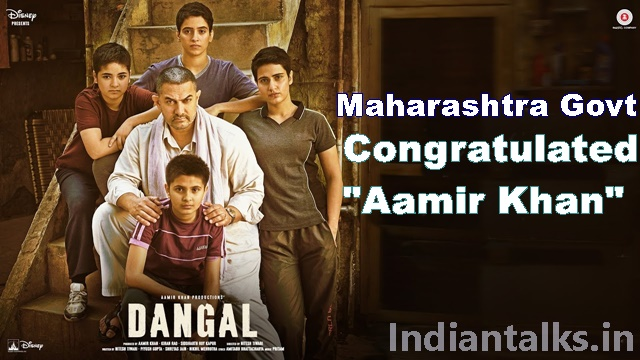 Maharashtra Govt Congratulated Aamir Khan Not Release Dangal in Pakistan Without National Anthem
