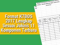 Format K7 BOS 2017 Lengkap Sesuai Juknis 11 Komponen Terbaru