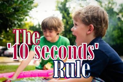 peraturan 10 saat untuk  kecil anda
