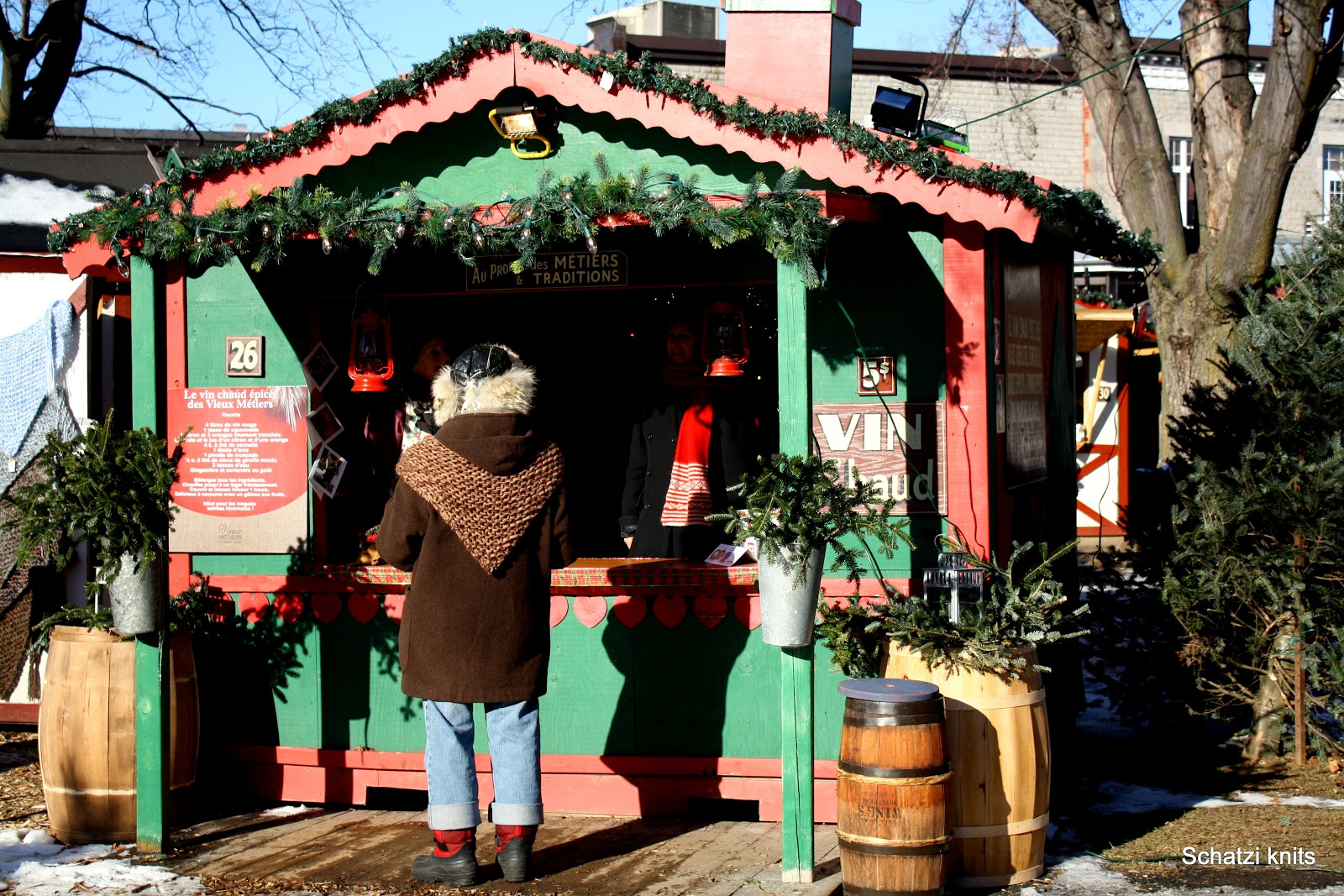 Schatzi's Knits: 'Twas The Night Before Christmas
