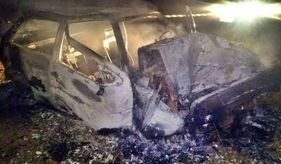Palmital: Motorista perde o controle e bate em árvore. Passageiro morreu no local