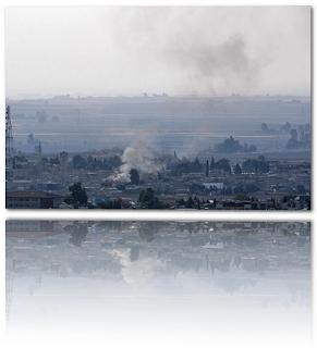 Les Kurdes seraient en train de se retirer de la 'zone de sécurité' syrienne alors que les combats se dissipaient