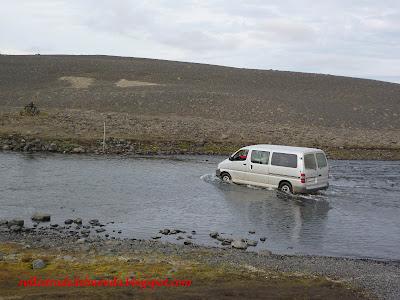 Guado in Islanda