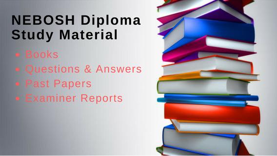 NEBOSH International Diploma Study Material PDF