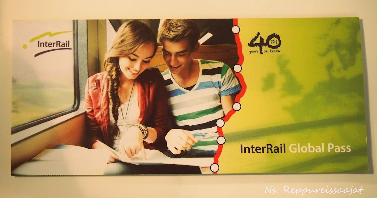 Ns Reppureissaajat Interrail Global Pass