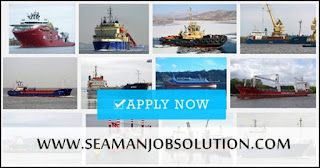 SEAMAN JOBS VACANCY - Opening hiring seaman crew on offshore ahts, supply, barge, bulk carrier, LPG, oil chemical tanker ship deployment in January 2018.