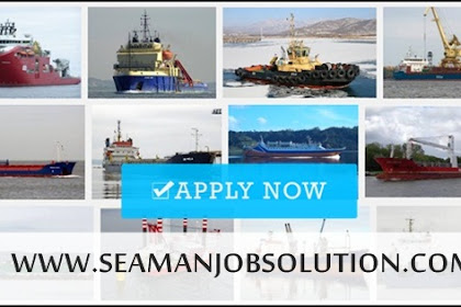 Able Seaman | Cook For Container, Bulk, Cargo Vessels (Indonesia)