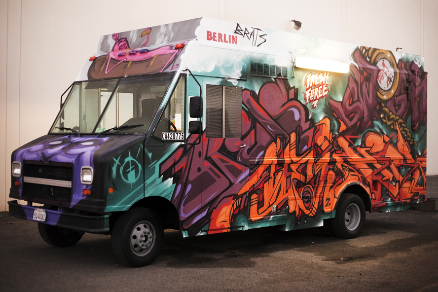 Thanks To Brats Berlin For The Support Of Street Art And Opportunity Paint Your Food Truck