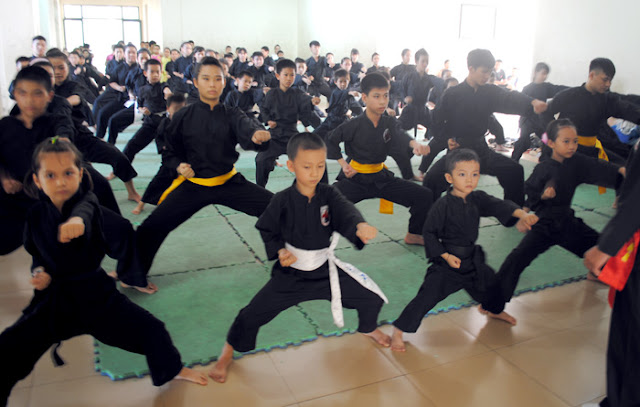 Học võ cho con ở đâu tại quận Bình Thạnh TP HCM