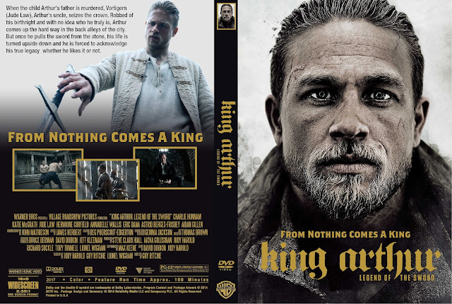 King Arthur Legend Of The Sword DVD Cover
