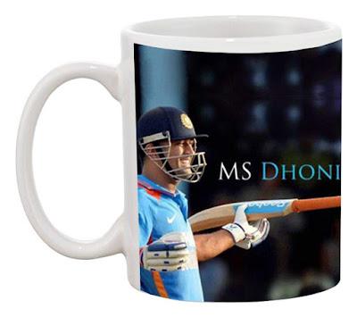 MS Dhoni Mugs