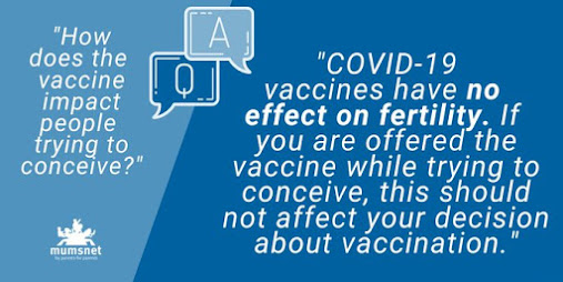 Mumsnet vaccines have no effect on fertility