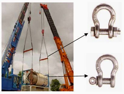 Screw Pin Shackle  Bolt Pin Shackle Round Pin Shackle