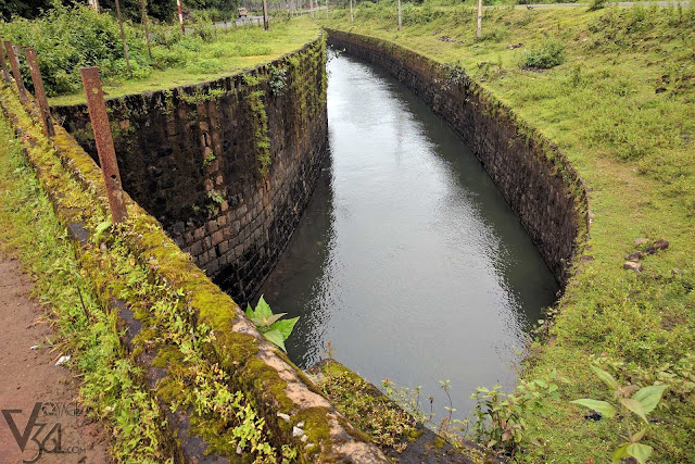 Canal for Krishna Rajendra hydroelectric Power Plant