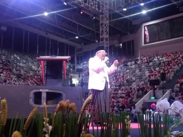 Ma'ruf Amin: Kalau Warga Jabar Tak Memilih Keturunan Jabar, Kelewatan!