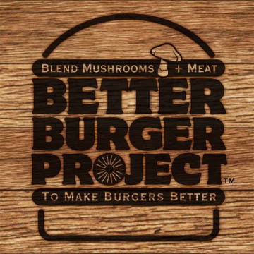 The James Beard Foundation's Better Burger Project poster