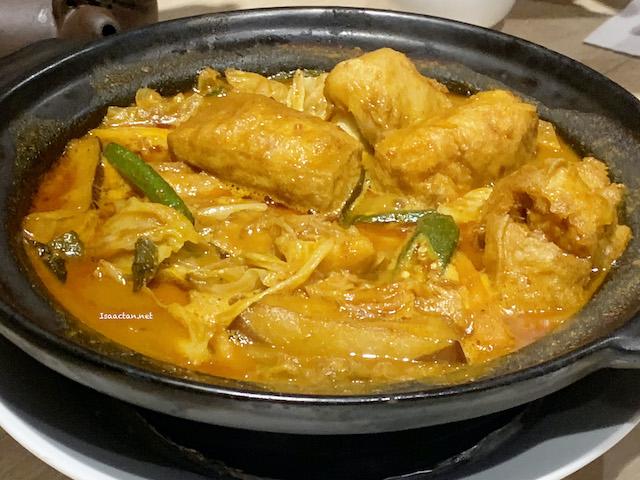 Black Tea Curry Lions Mane Mushroom