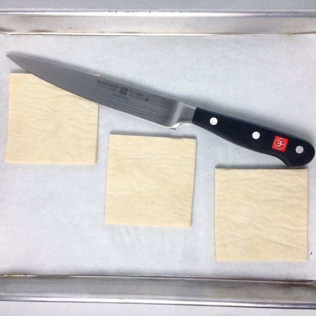Cutting Puff Pastry Sheets