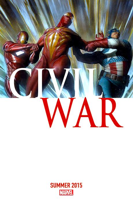 Coperta benzii desenate Civil War