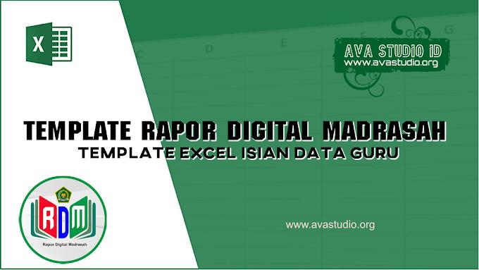 [Excel] Template Excel RDM 2021 - Isian Data Guru